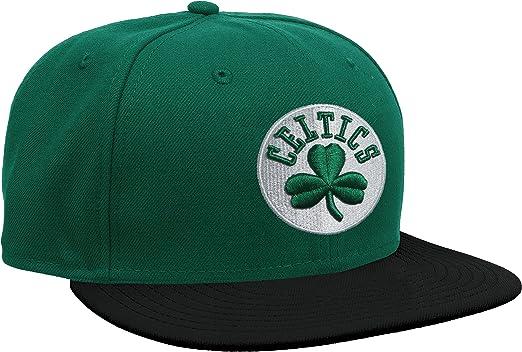 A NEW ERA NBA Basic Boston Celtics Gorra, Hombre: New Era: Amazon ...