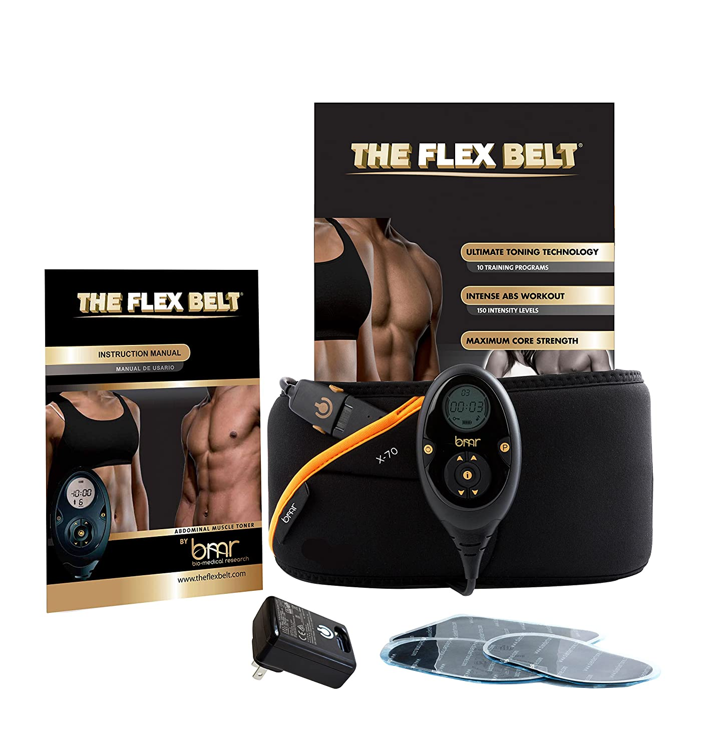 THE FLEX BELT Ab Belt Workout