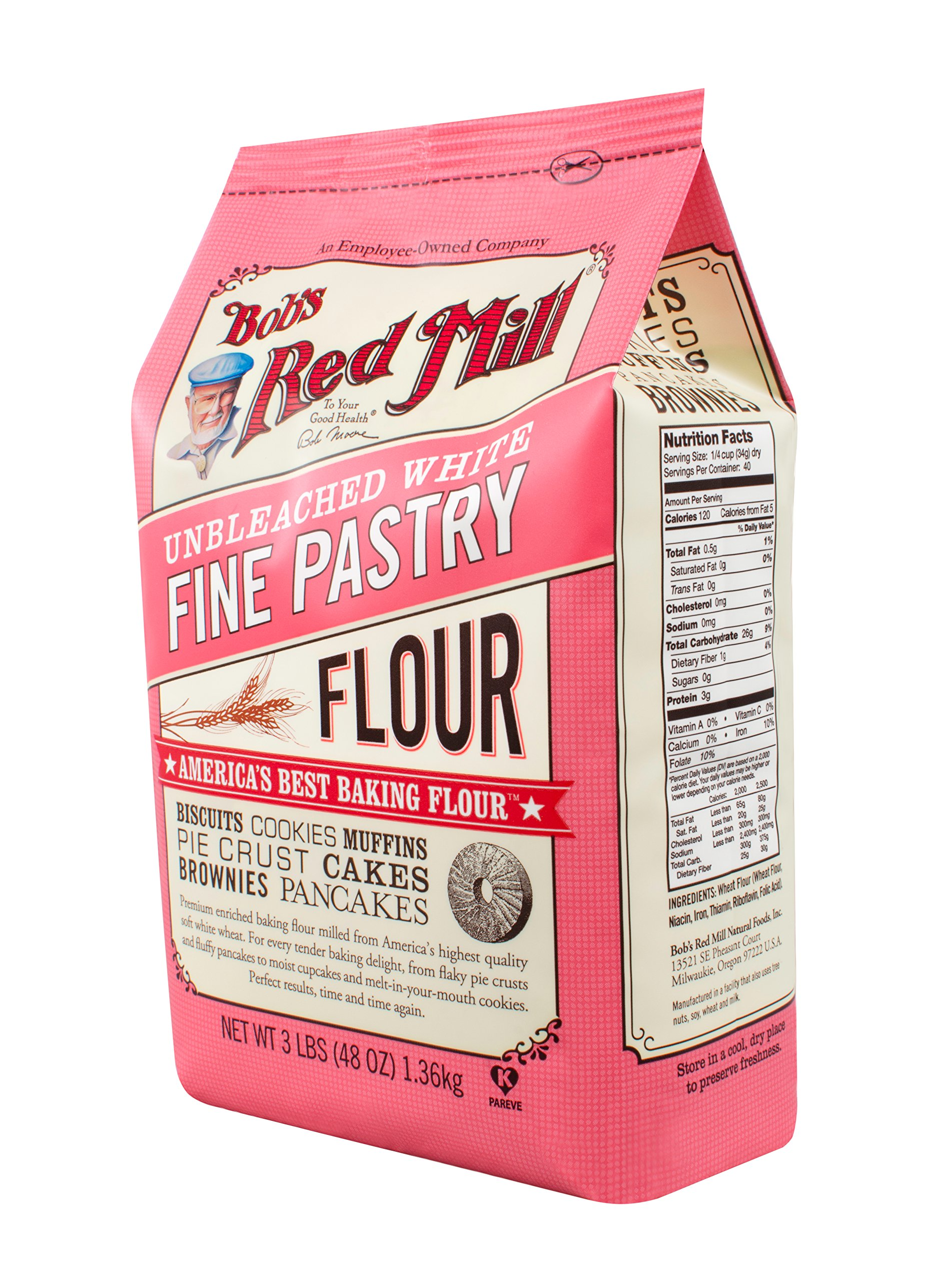 Amazon.com : Bob's Red Mill Super Fine Cake Flour, 48