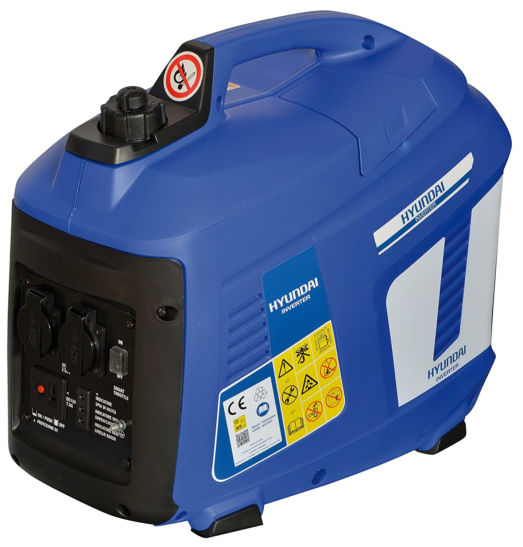 Generatore di corrente inverter 2,0 Kw Hyundai TG2000i silenziato: Amazon.es: Bricolaje y herramientas