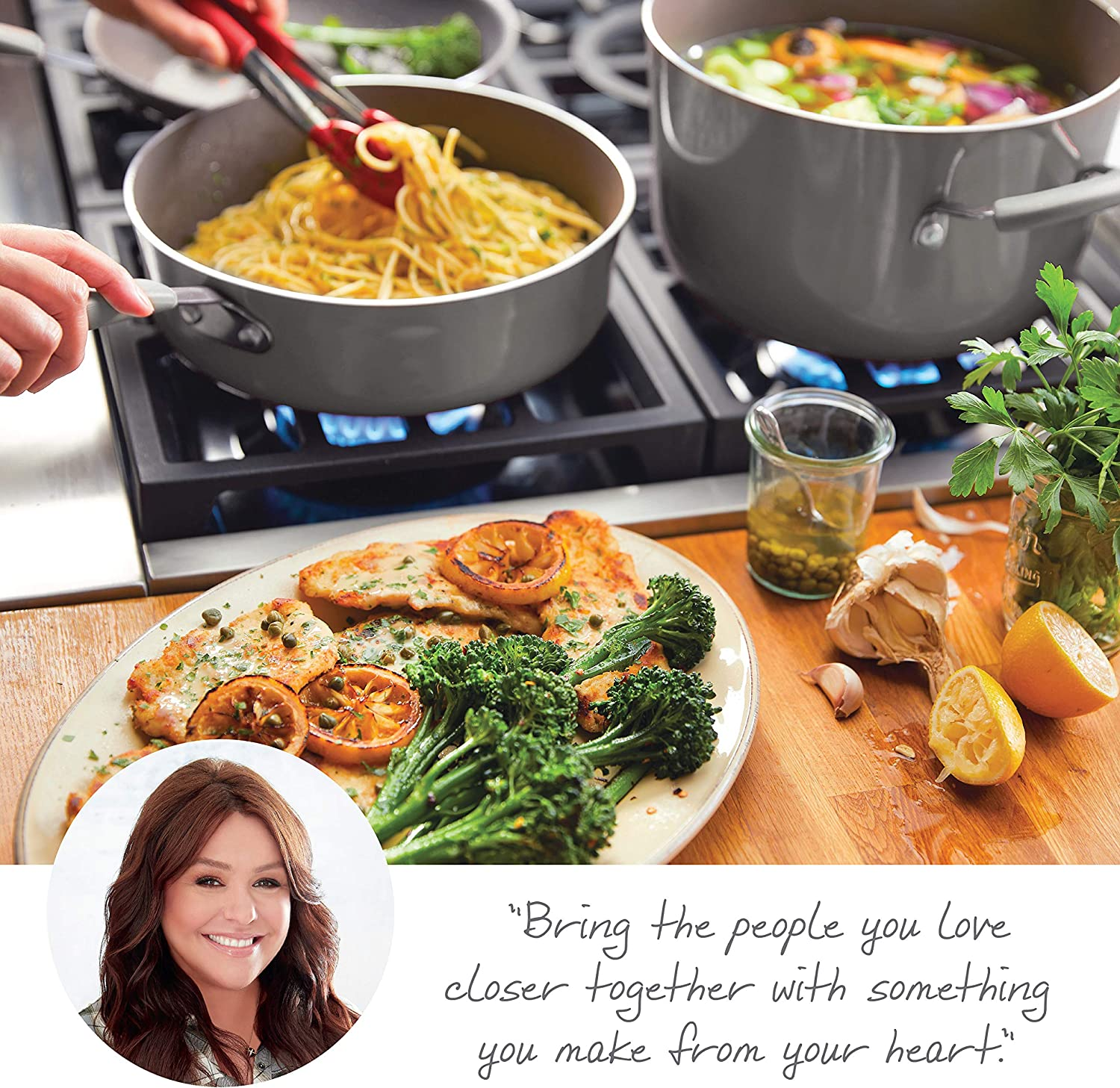 Rachael Ray Hard-Anodized Nonstick Cookware