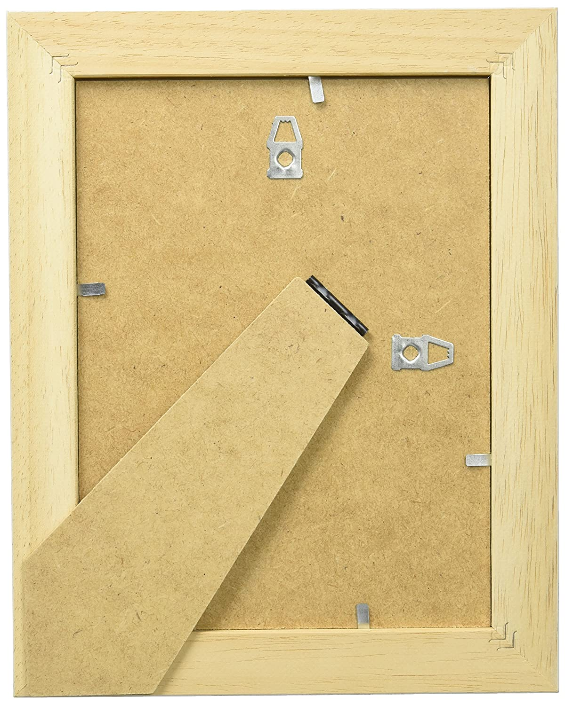Deknudt Frames S221H1 15 x 20 cm Marco de foto de madera blanca