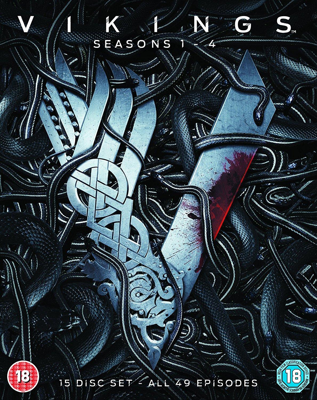 Amazon Com Vikings Seasons 1 4 Blu Ray Movies Tv