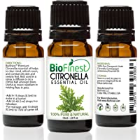 Biofinest Citronella Oil - 100% Pure Citronella Essential Oil - Organic - Therapeutic Grade - Best For Aromatherapy…