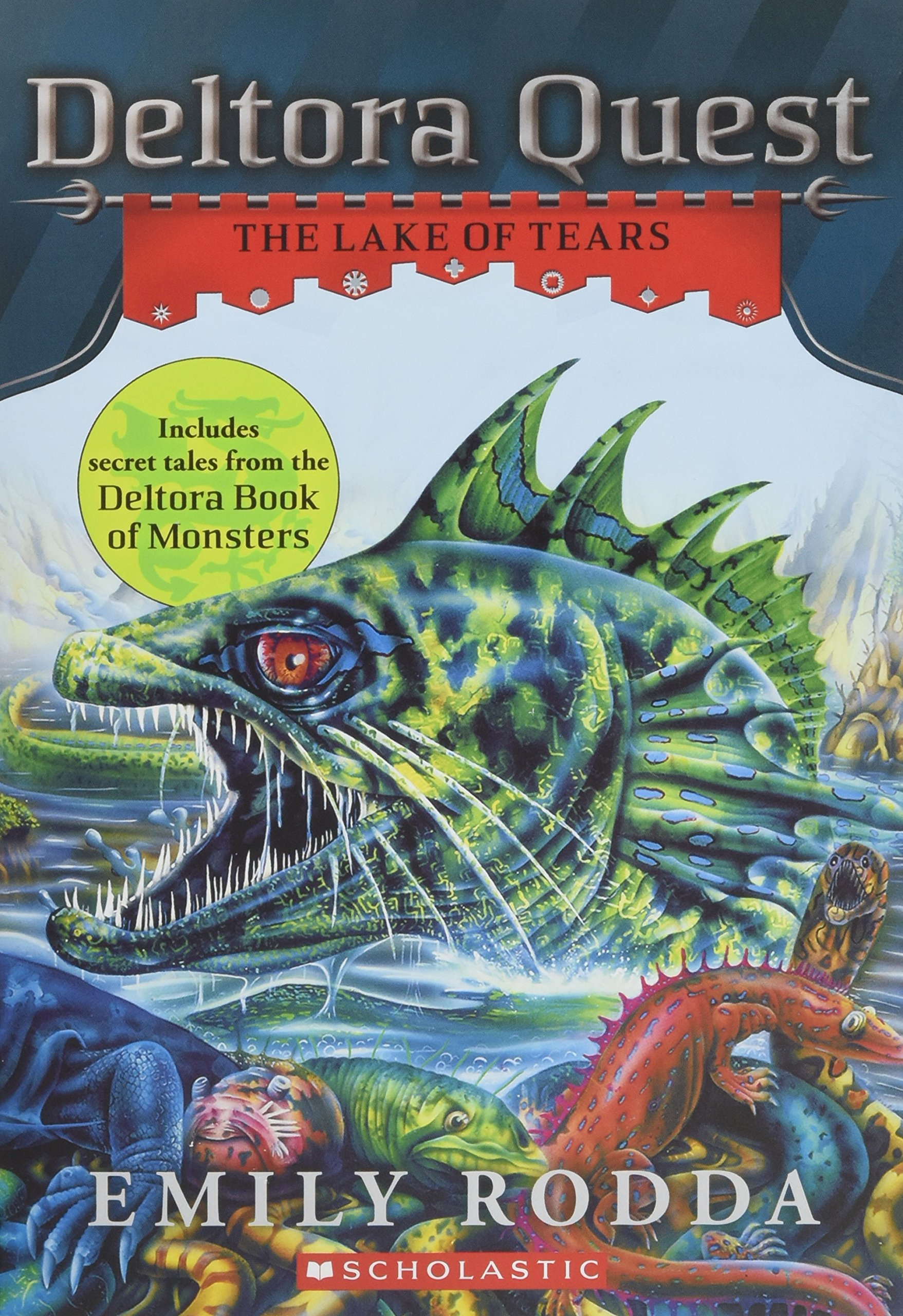 Deltora Quest #2: The Lake Of Tears: Emily Rodda: 9780545460217:  Amazon: Books