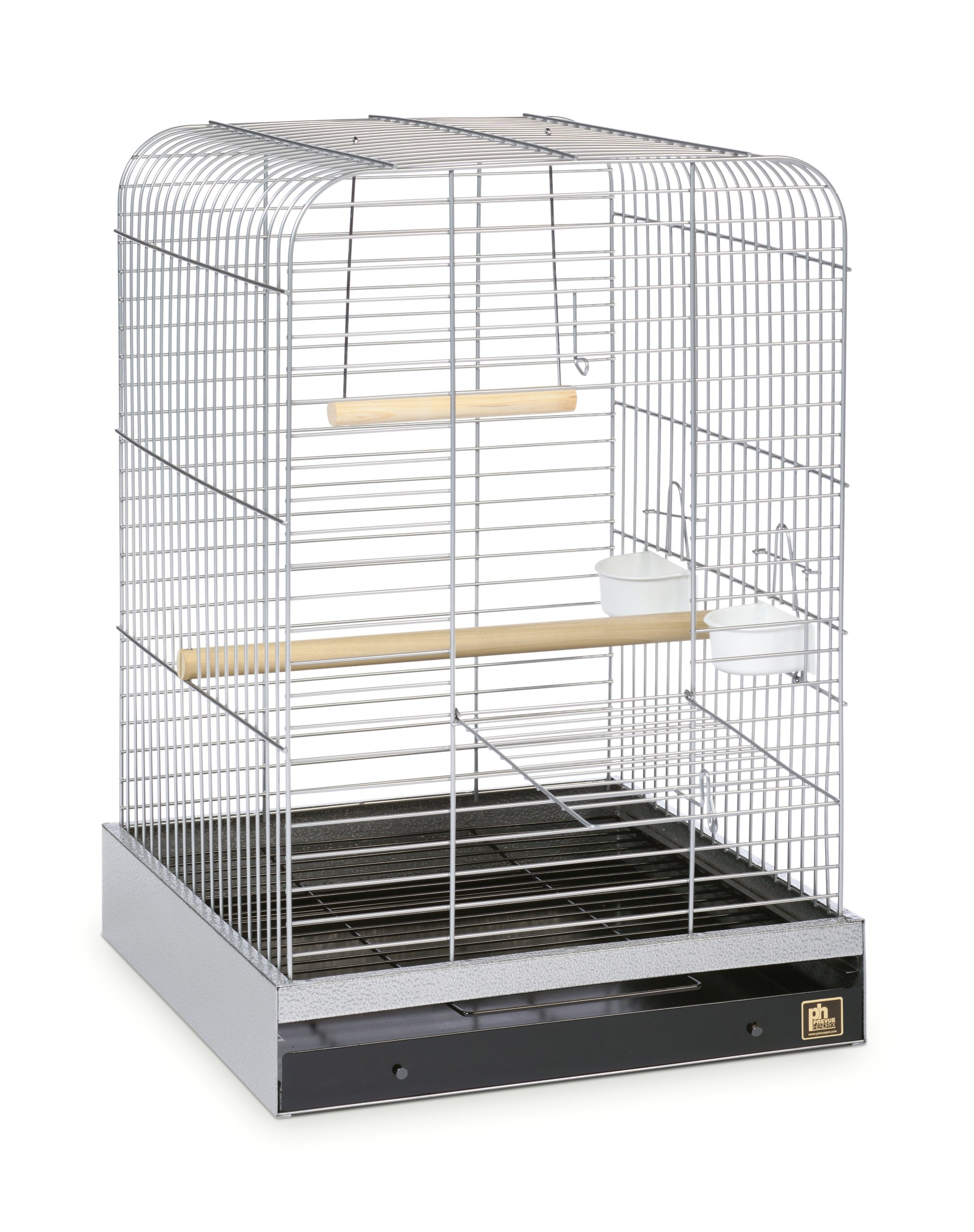 Prevue Pet Products 125C Parrot Cage, Chrome by Prevue Pet Products