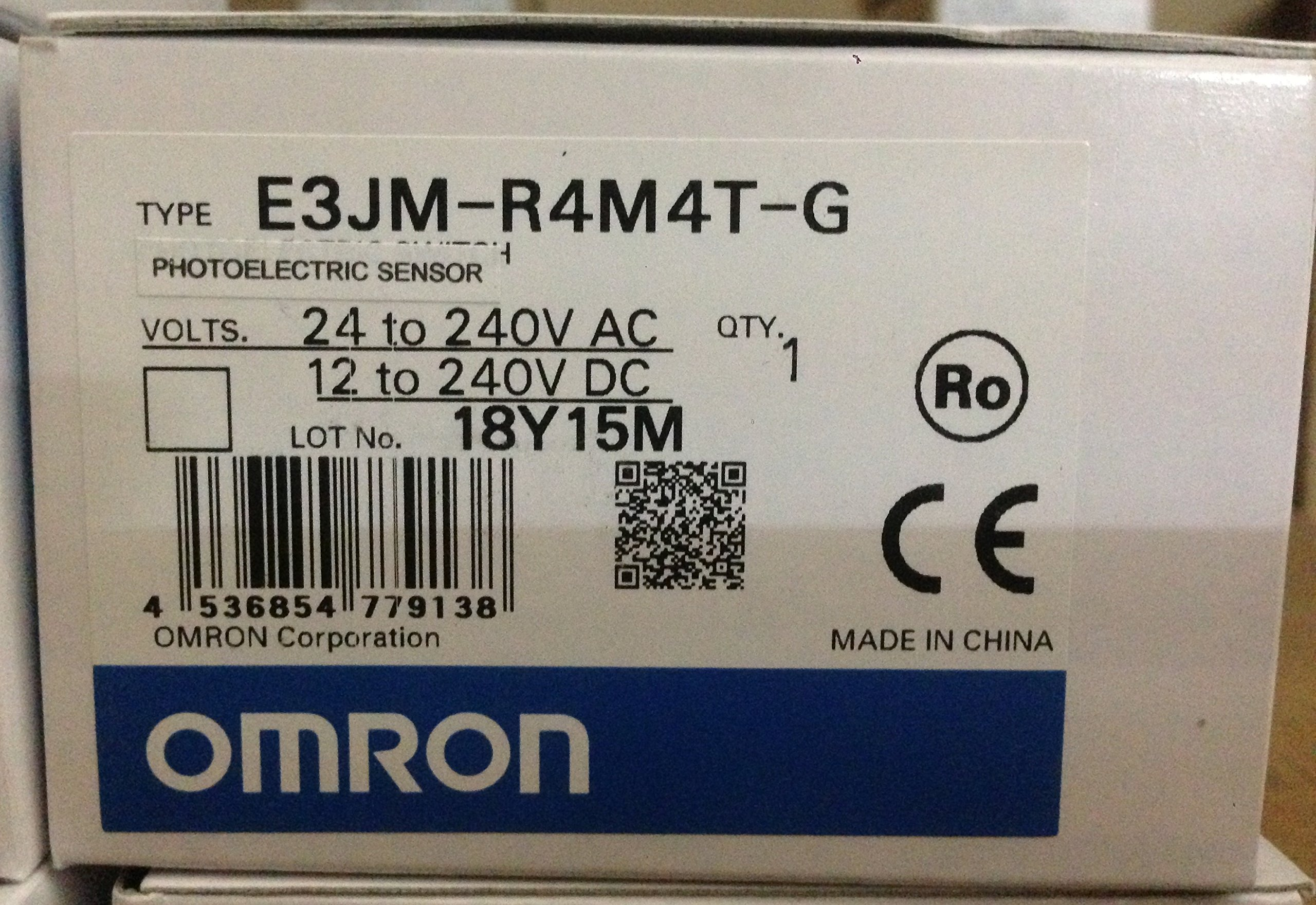 Photoelectric Sensors RELAY OUT TIMER 4m SENSING