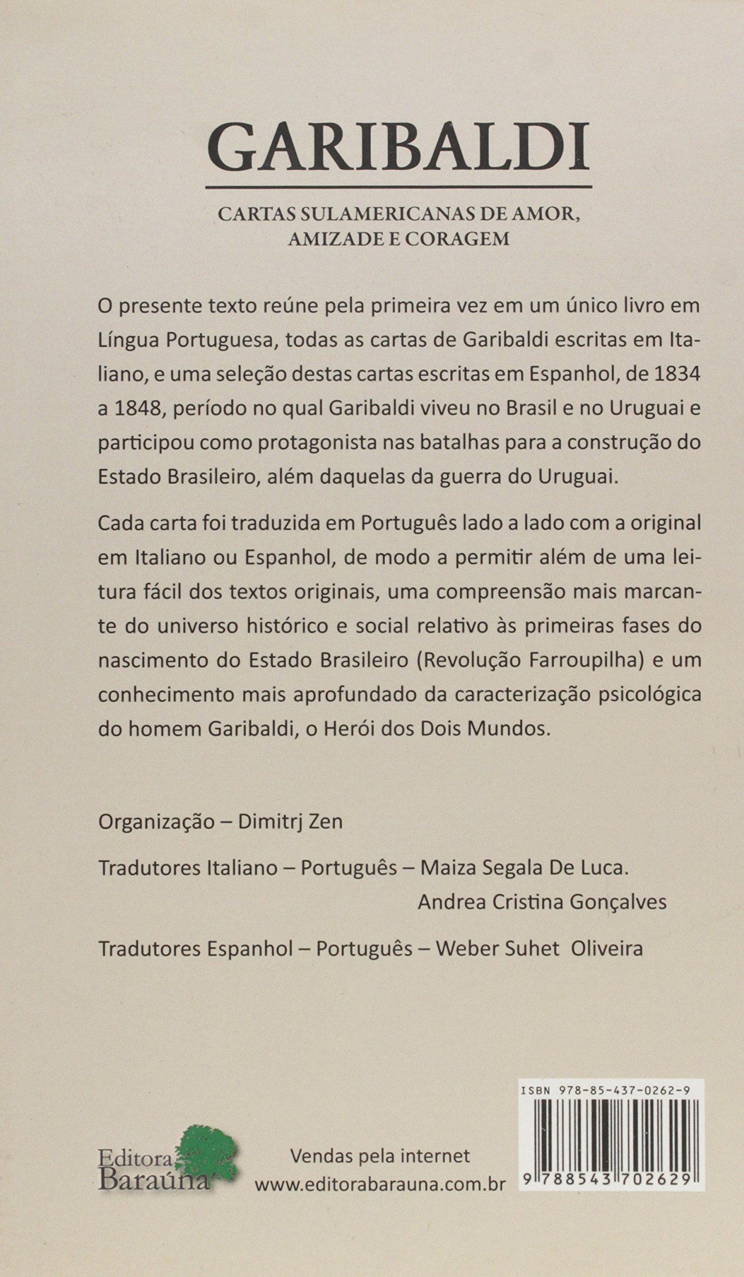 Garibaldi: Dimitrj Zen: 9788543702629: Amazon.com: Books