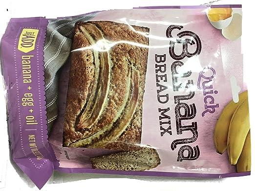 Fresh Gourmet Banana Pan Mix-10.5oz paquetes (3 bolsas ...