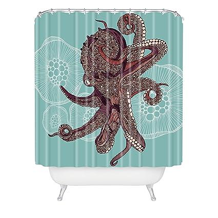Amazon Deny Designs Valentina Ramos Octopus Bloom Shower