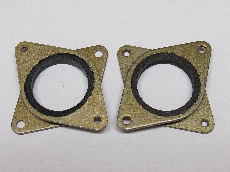 3 pack CNC NEMA 17 Steel /& Rubber Stepper Motor Vibration Damper M3 Screws 3D Printer