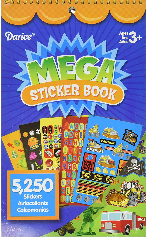 Boy DARICE STRK-12B Mega Decorative Stickers
