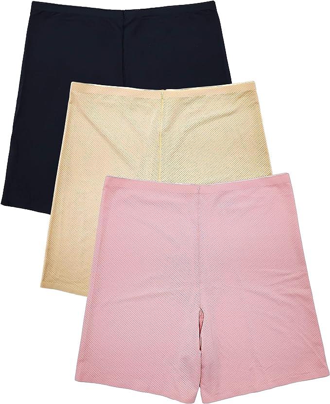 Seamless Boyshorts High Waist Womens Underwear Cotton Briefs Boxer Panties J3I6