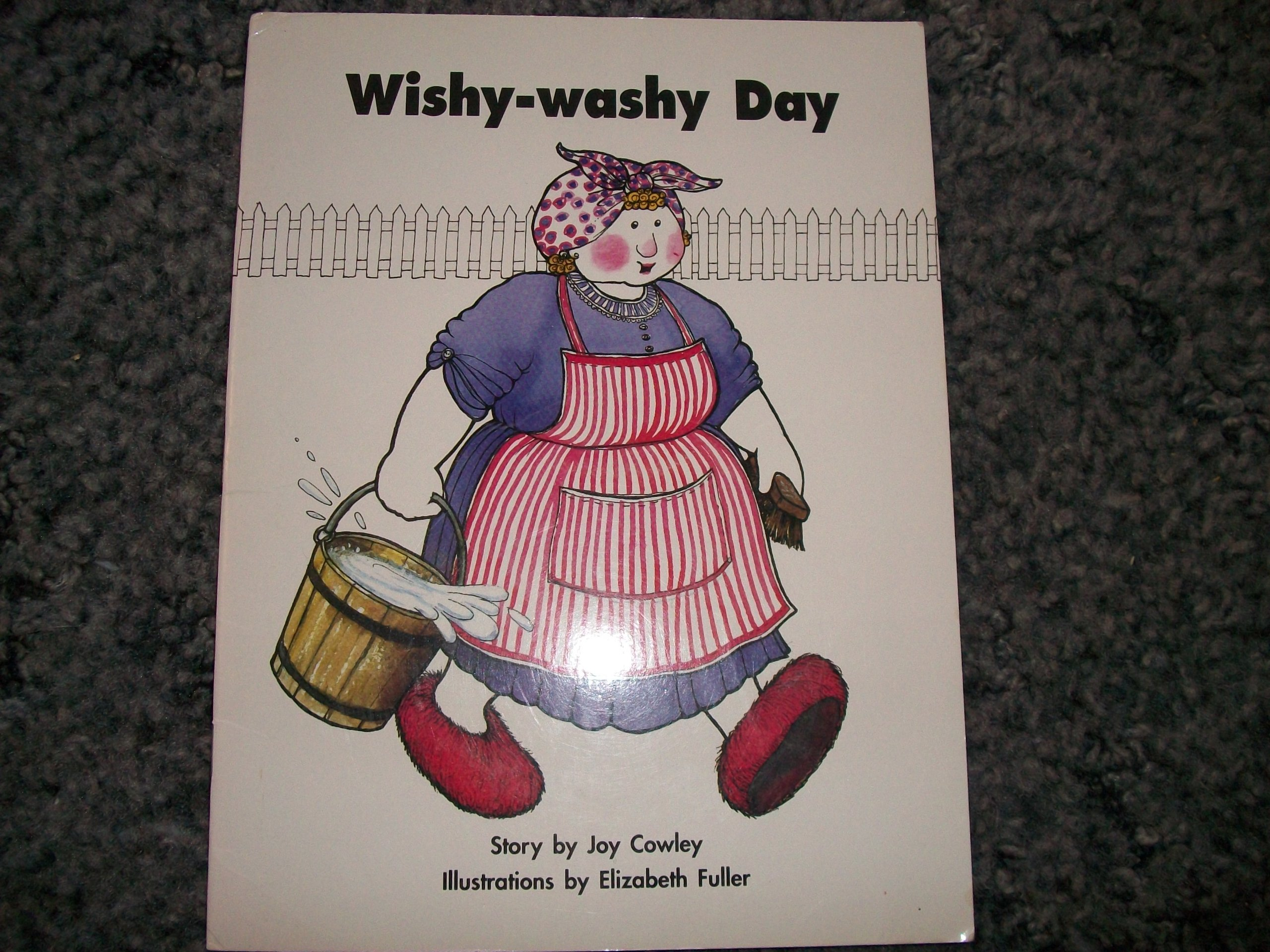 Story Basket, Wishy-Washy Day