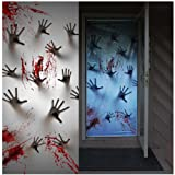 Amazon Price History for:Joiedomi Halloween Haunted House Decoration Window Door Cover Zombie Hands 72X30 Inches