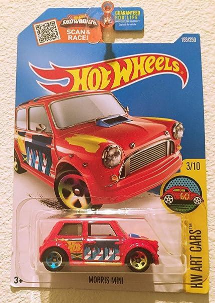 Amazoncom Hot Wheels 2016 Hot Wheels Case E Morris Mini 193 Art
