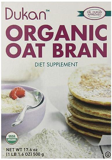 Salvado de avena orgánica, 17.6 oz (500 g) - Dieta Dukan