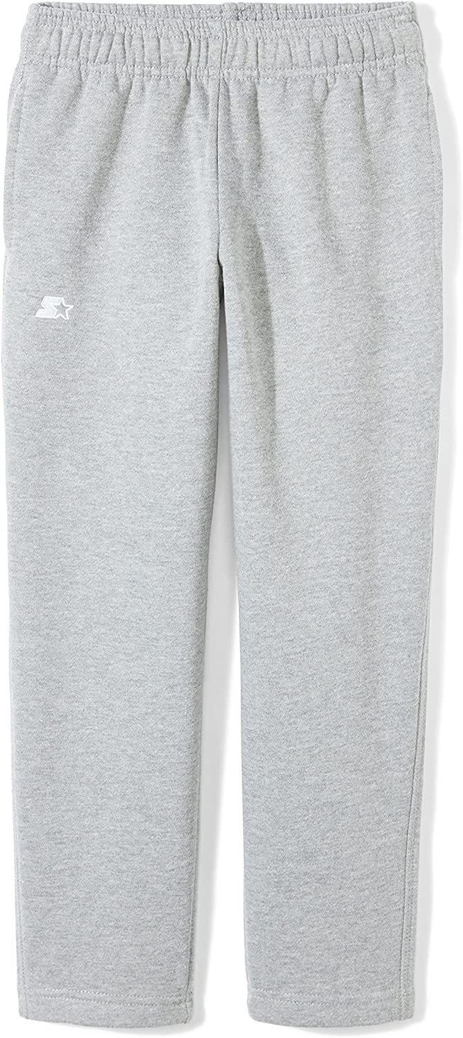 Starter Girls' Open-Bottom Sweatpants with Pockets,  Exclusive: Clothing