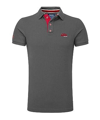 lowest price b5695 1c0d8 M.Conte Poloshirts für Herren Kurzarm Polohemd Strech-Baumwolle T-Shirt Fun  Poloshirt Pique Basic Men's Plain Royal Blau SML XL XXL XXXL Romano