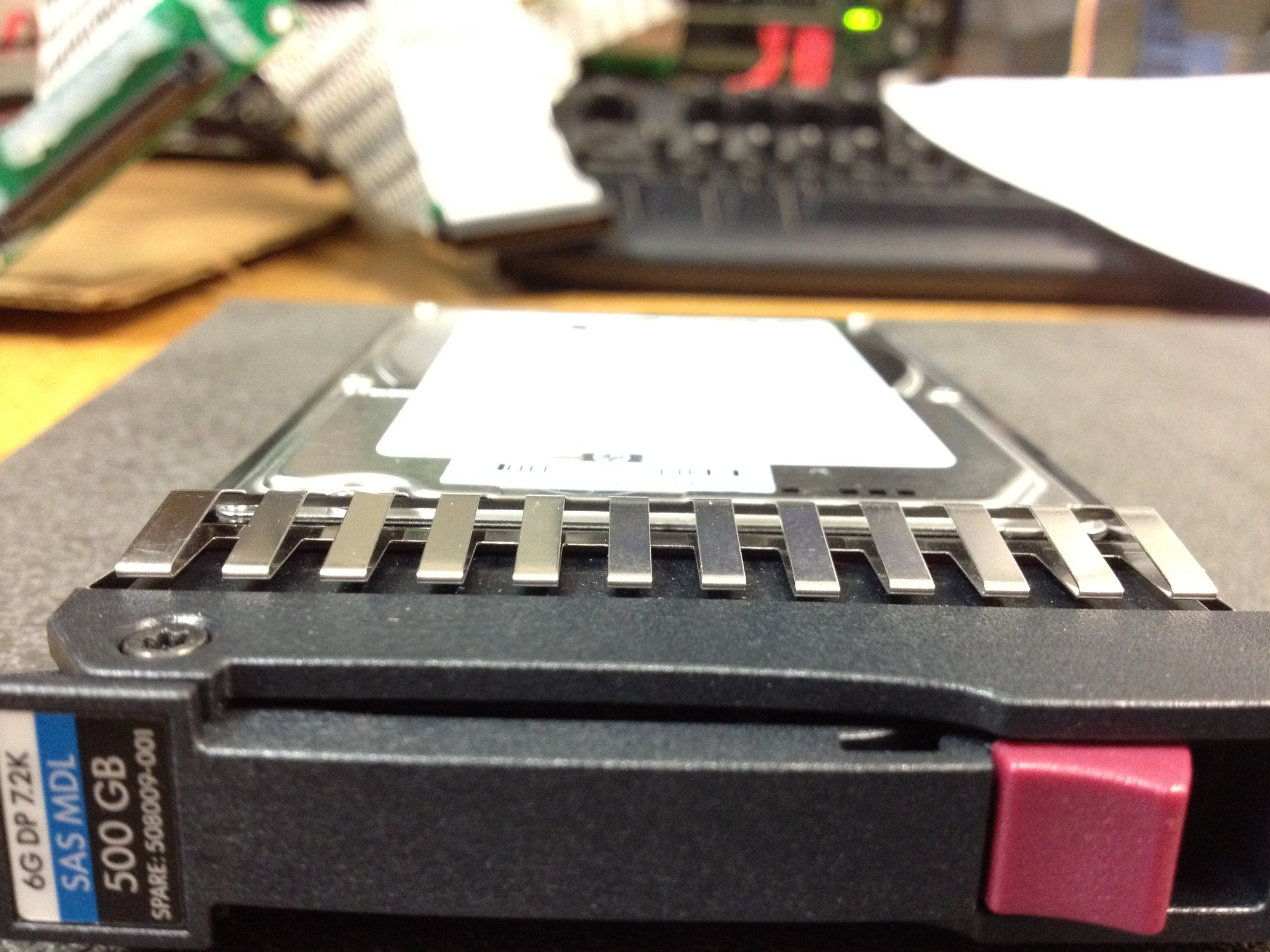 HP 500 GB 2.5'' Internal Hard Drive 508009-001