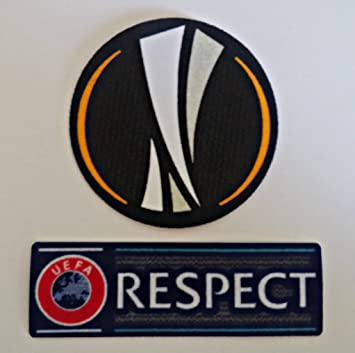 NEW EUROPA LEAGUE & RESPECT IRON-ON PATCHES