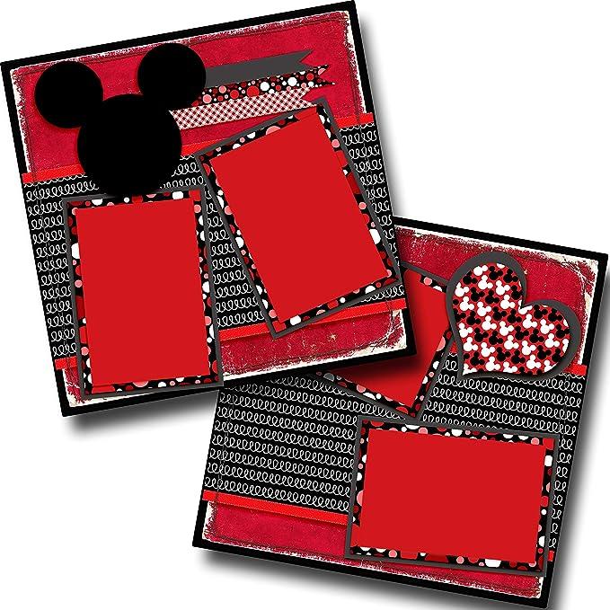 Premade Scrapbook Pages EZ Layout 933 GRINCHY