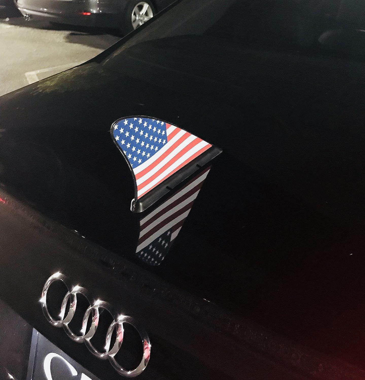 USA CARFIN CAR Flags