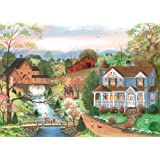 The Fishing Lesson 500 PC Large Format Puzzle