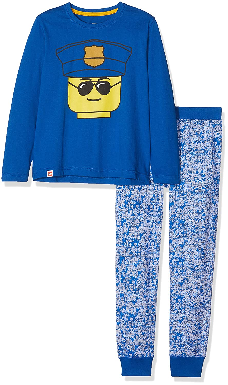 Lego Wear Kinder Pyjama Langarm 2-TLG Jungen Schlafanzug lang