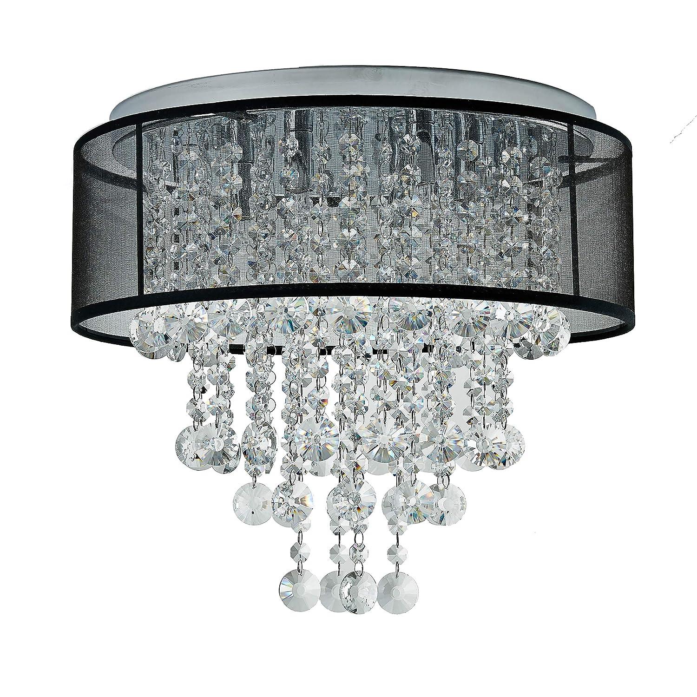 Jojospring visalia 9 light flushmount chandelier amazon ca electronics