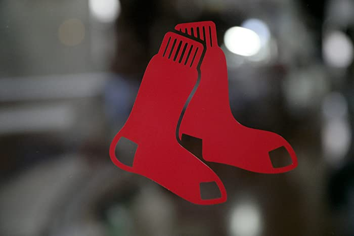 Amazoncom Set Of Boston Red Sox Custom Socks Design Decal - Custom vinyl decals boston