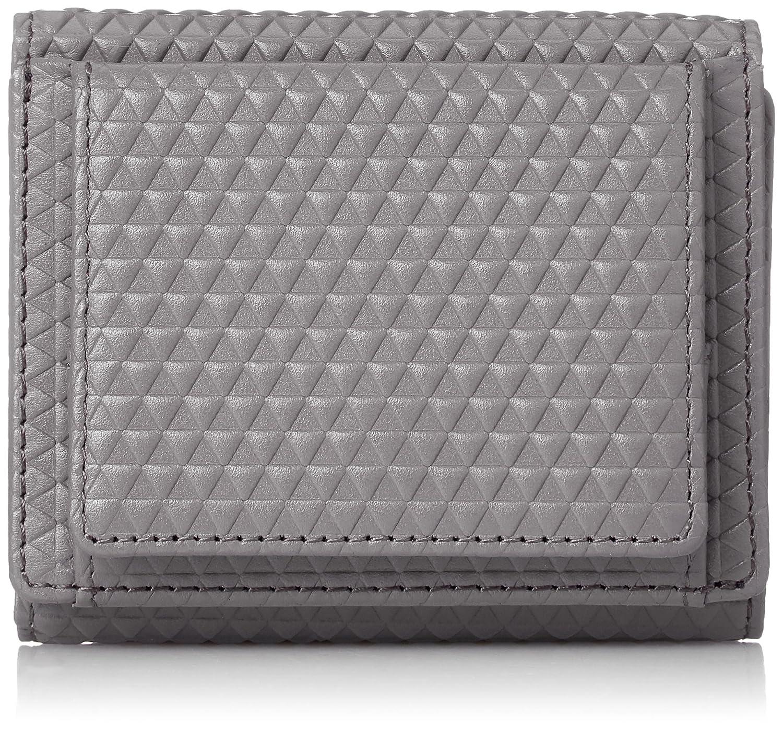 [シーカー] 財布 SEEKER TRIANGLE ser. コンパクトウォレット 三つ折り 財布 SKW-017TA5 B077XCRRW6  グレー