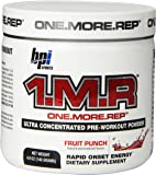 BPI Sports 1.M.R Ultra Concentrated Pre-Workout Powder, Fruit Punch, 4.9-Ounce