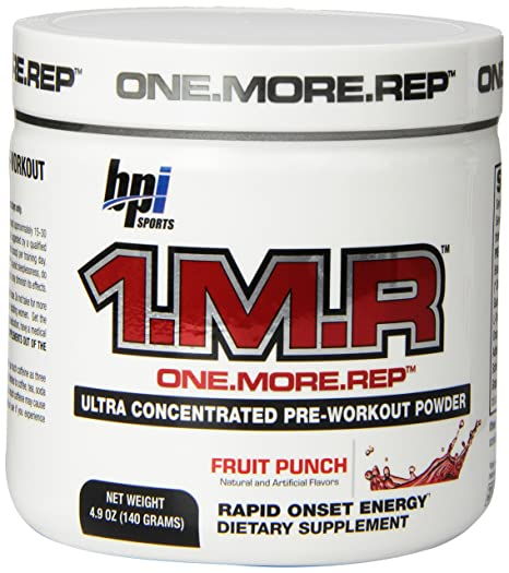 Bpi Sports 1 M R Ultra Concentrated Pre Workout Powder Fruit Punch 4 9 Ounce Amazon In Health Personal Care