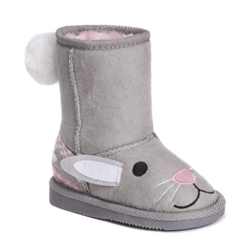 38ba7bd6e4ce2 MUK LUKS Girls Kids Trixie Bunny Boots Fashion