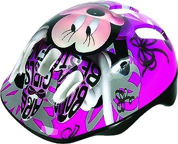 Atosa-29569 Casco Infantil Bicicleta Minnie, Color Rosa (5004-50038)