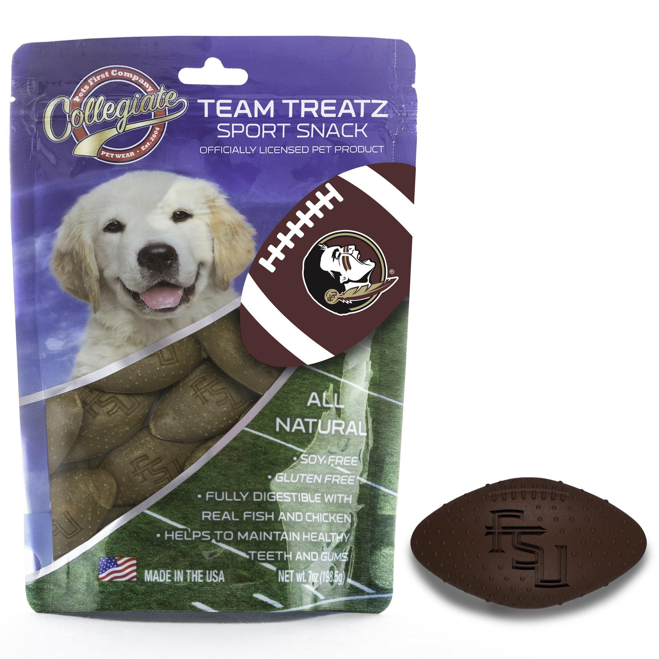 Pets First Collegiate Pet Accessories, Dog Treats, Florida State Seminoles, 7 oz