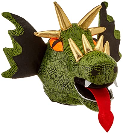 4f3574125f63b Amazon.com  Beistle 60628 Plush Dragon Hat  Party Hats  Kitchen   Dining