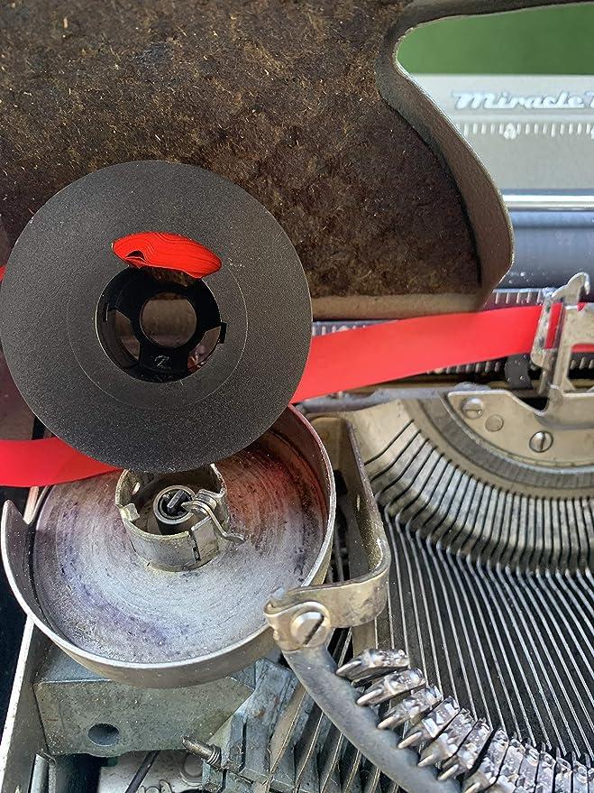 Remington Quiet Riter /& Noiseless Typewriter Ribbon on Original Metal Spools   Also fits Underwood Noiseless