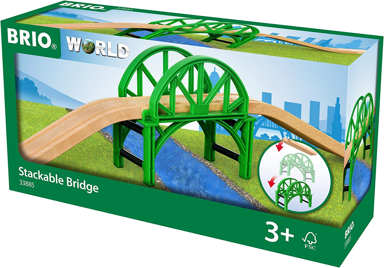 BRIO Puente apilable (33885), Multicolor (RAVENSBURGER 1)