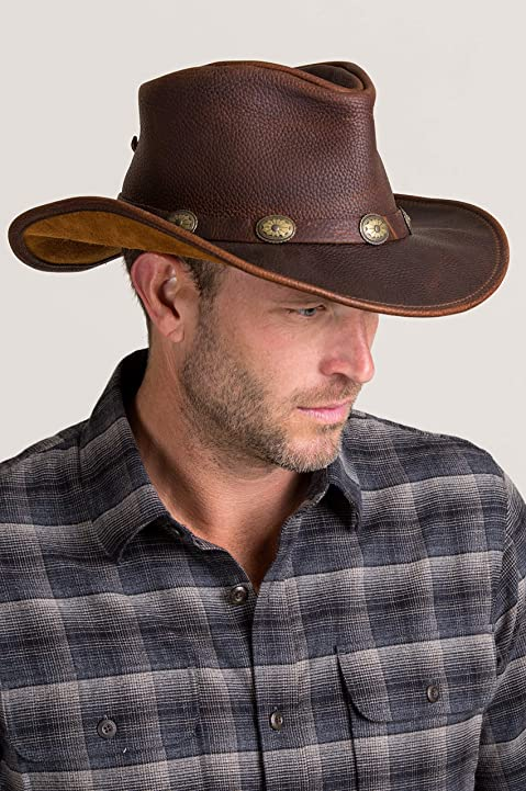 fe98a029930 Top 10 Leather Cowboy Hats In 2018 - The Best Hat