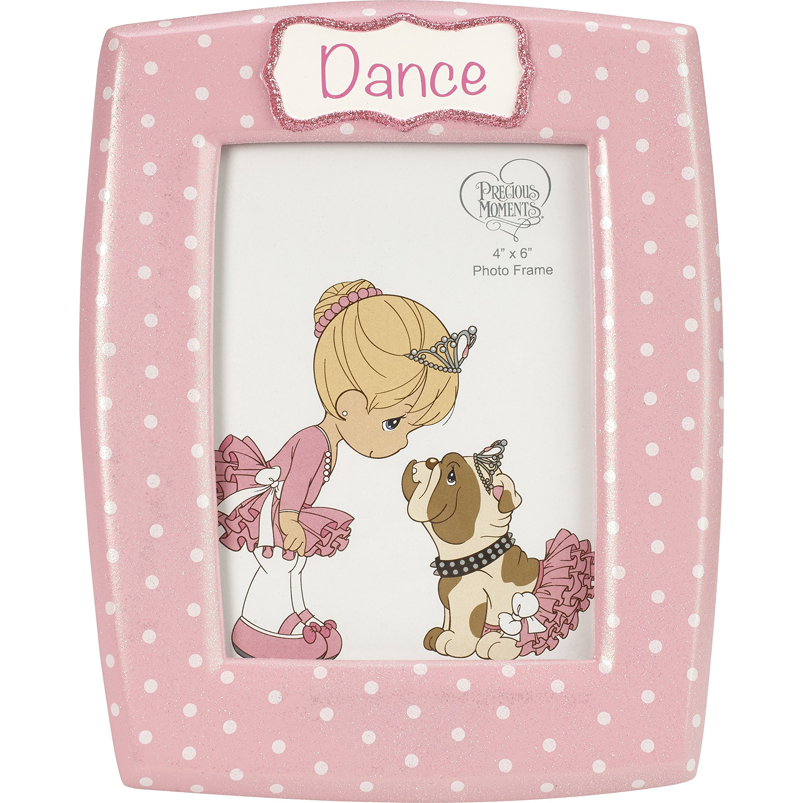 Precious Moments Dance Ballerina Resin 185094 Photo Frame, One Size, Multicolor
