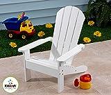 KidKraft Adirondack Chair - White
