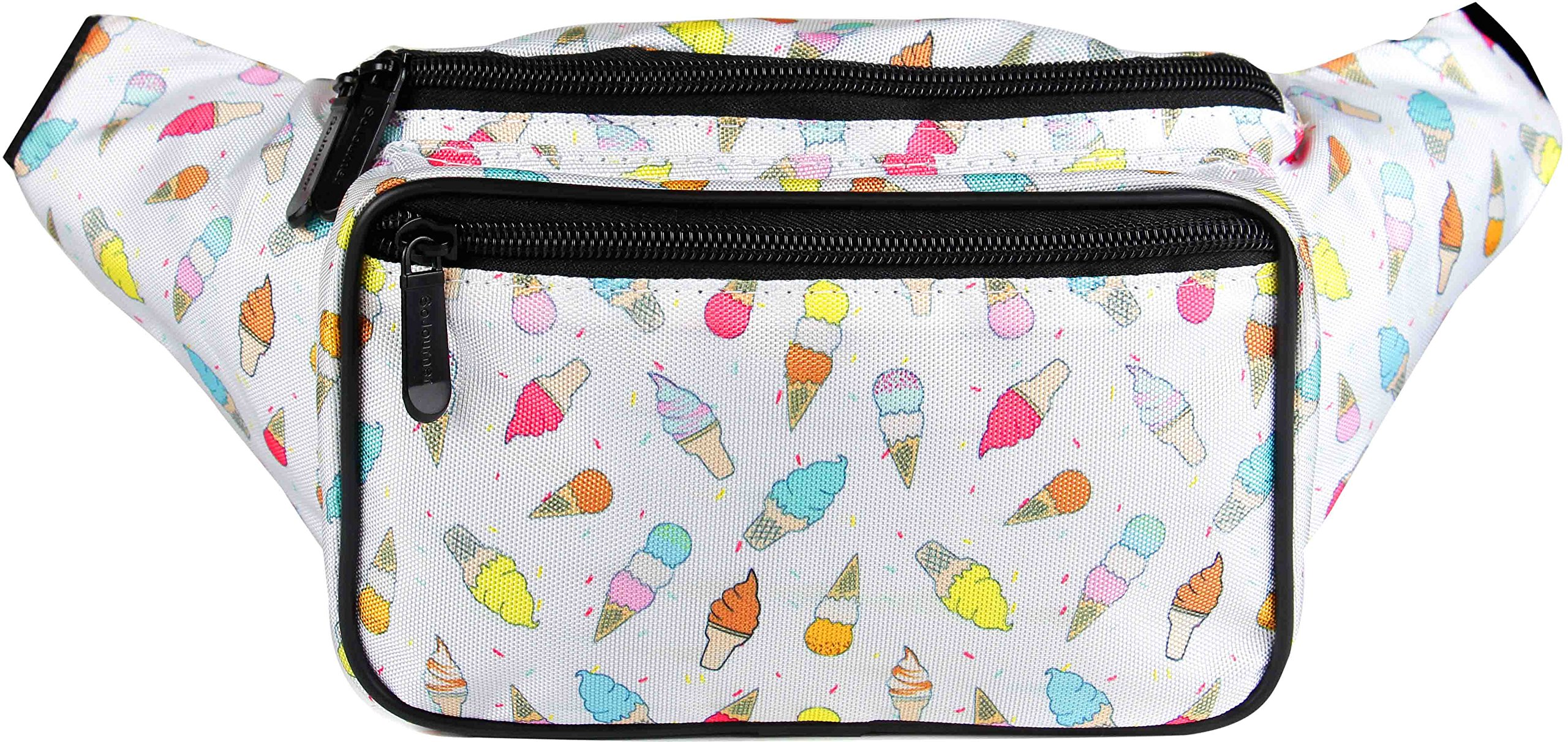 SoJourner Ice Cream Fanny Pack - Packs for men, women | Cute Waist Bag Fashion Belt Bags
