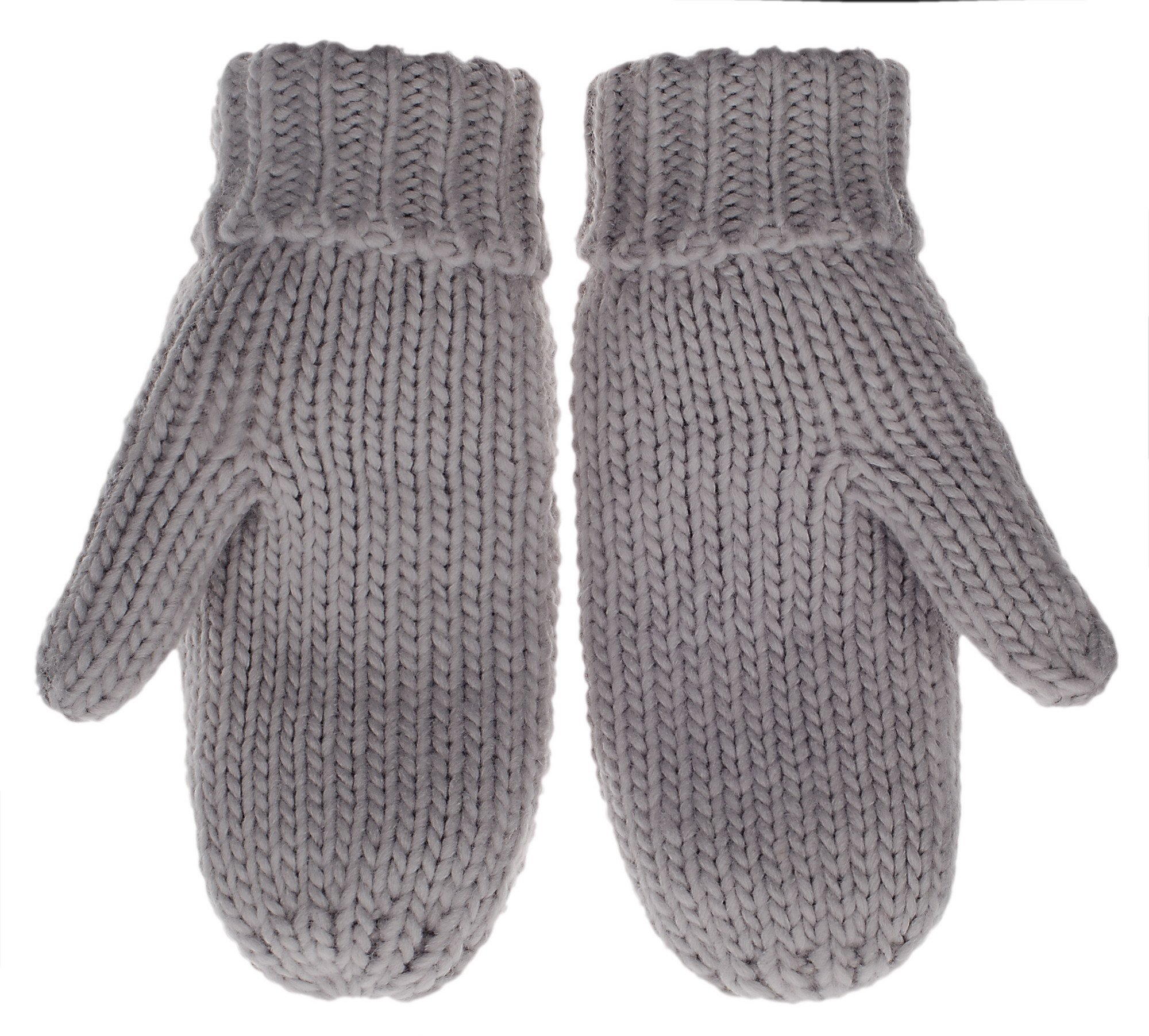 IL Caldo Womens Winter Glove Hemp Plush Lining Thick Knit Mitten Drive Work Gloves,Dark gray