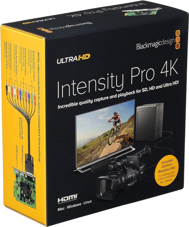 Blackmagic Design Intensity Pro 4k Pcie 4 Lane Video Amazon Co Uk Electronics