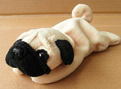 Amazon.com  Ty Beanie Babies - Pugsly the Pug Dog  Toys   Games 6290ada85c6