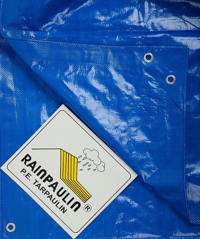 Rainpaulin HDPE Plastic Tarpaulin (Blue, 200 GSM, 18 FT x 15 FT )