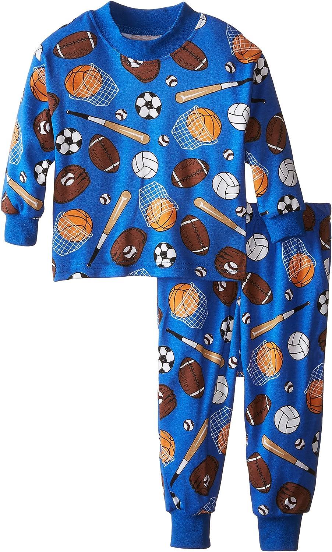 Saras Prints Girls Baby Boys Classic Two-Piece Long Pajamas