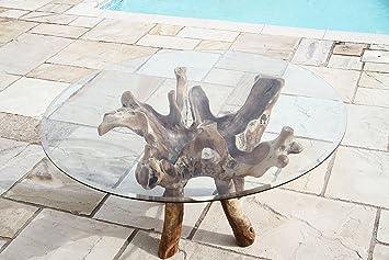 Inspiring Furniture Ltd Racine De Teck De Jardin Table De Salle A